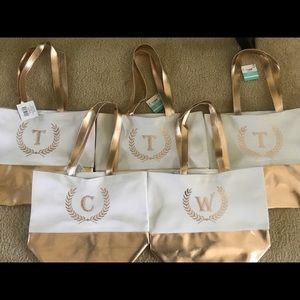 Personalized Canvas Bag. Any initials can be done